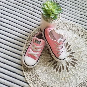 Converse All Star Baby Pink Size 7